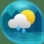 Погода и часы виджет